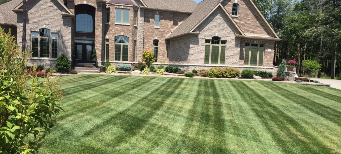 Enjoy our Residenail Lawn Cutting, Landscaping and Snow Plowing