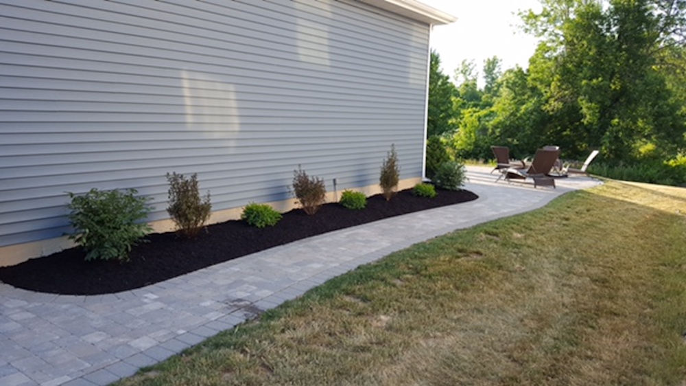 Landscape Project Portfolio for Mike Sinatra Landscaping and Snow Plowing